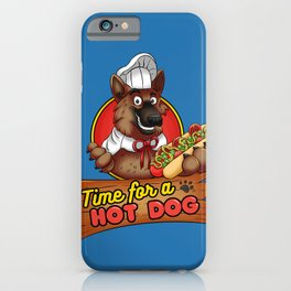 Hot Dog Time! iPhone Case