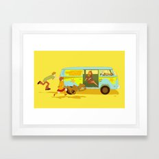 Little Mystery Machine Framed Art Print