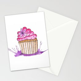 Cupcake Delight Stationery Cards
