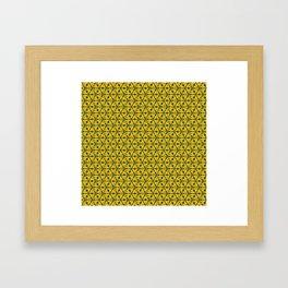 Cheesehole Framed Art Print