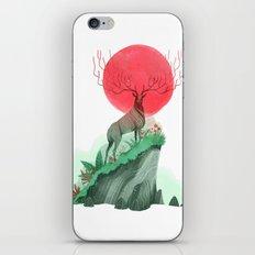 Deer King iPhone Skin