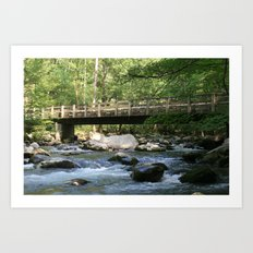 Greenbrier Bridge Art Print