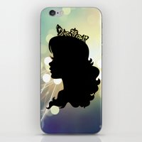 silhouette iPhone & iPod Skins featuring Silhouette by Urlaub Photography