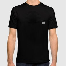 A Template for Your Imagination Mens Fitted Tee Black MEDIUM