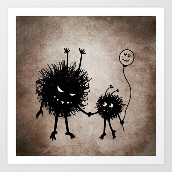Evil Flower Bug Mother's Day Art Print