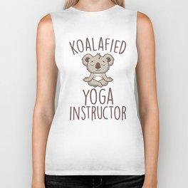 Koalafied Yoga Instructor Biker Tank