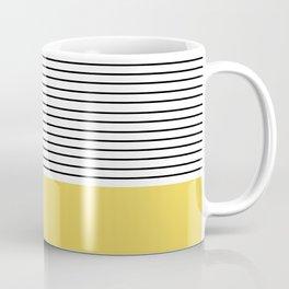 MINIMAL Green Stripes Coffee Mug
