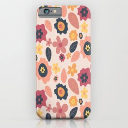 Quirky Flowers iPhone Case