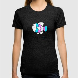 Trans Pride (black texts) T-shirt