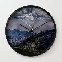 Lighting Is Alone Wall Clock