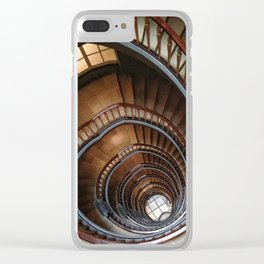 Stairs III Architecture Clear iPhone Case