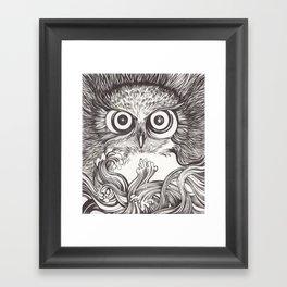 Vigilia Framed Art Print