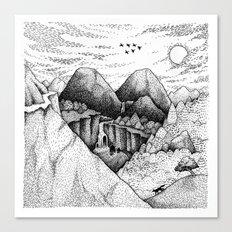 Wild At Heart Canvas Print