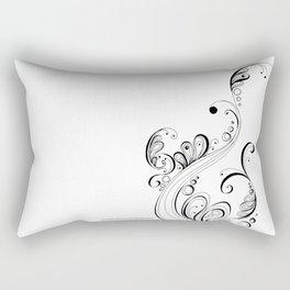 Arising Ambition Doodle Art Rectangular Pillow