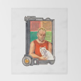 The Fifth Element is Cat Love Throw Blanket