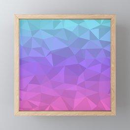 Jewel Tones - Flipped Framed Mini Art Print
