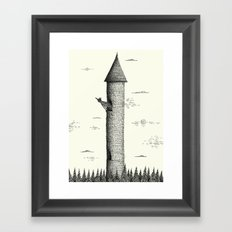 'Tower' Framed Art Print