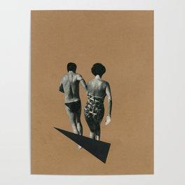 Beach Romance Poster