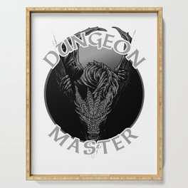 D20 Dragon Dungeon Master Serving Tray