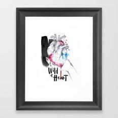 Wild at Heart Framed Art Print