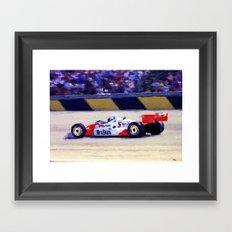 Indy Car Framed Art Print