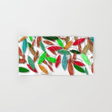 colored leaves Hand & Bath Towel