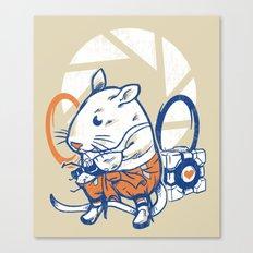 Rat Subject Canvas Print