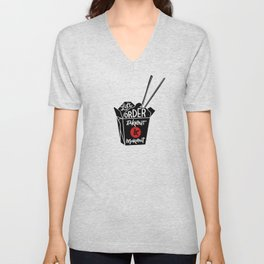 takeout & makeout Unisex V-Neck