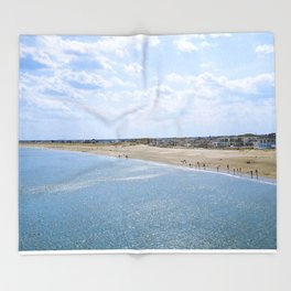 Seabrook Beach Day Throw Blanket