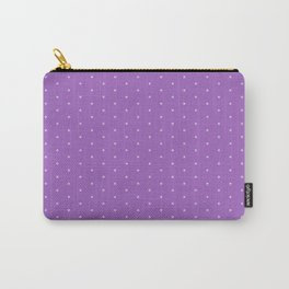 Lavender Dots Carry-All Pouch