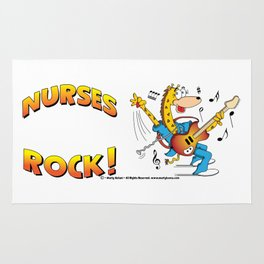 Nurses Rock Side by Side Rug
