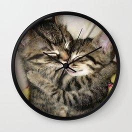 Enfold Wall Clock