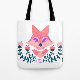 Scandi Fox Tote Bag