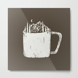 coffee time Metal Print