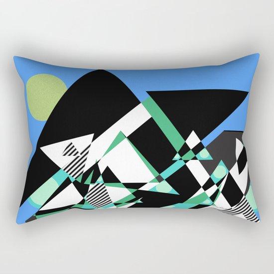 The Epic Climb Rectangular Pillow