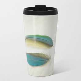 Two Feathers Travel Mug