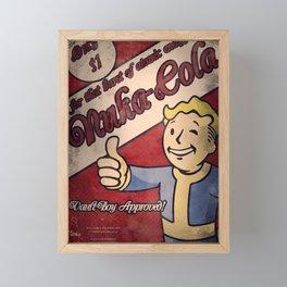 Fallout - Nuka Cola Framed Mini Art Print