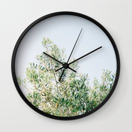 The olive tree | Italy fine art travel photography | Ostuni art Wall Clock