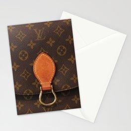 LV Style Stationery Cards
