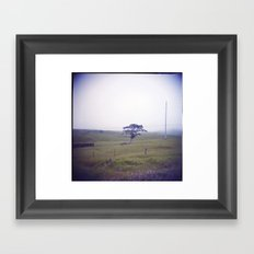 Lone Framed Art Print