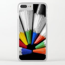 Colour Your Walls Clear iPhone Case