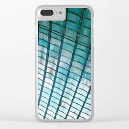 Mosaic II Clear iPhone Case