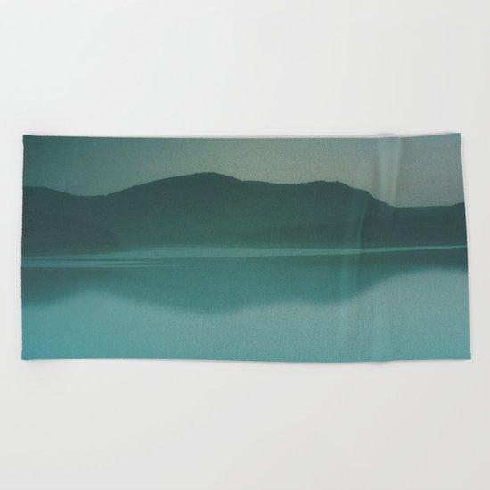Lakeside Drive Beach Towel