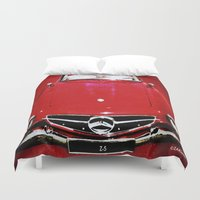 mercedes Duvet Covers featuring Zaklassic - Z-05 by Zak Ashton
