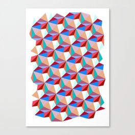 PPPattern PINK Canvas Print