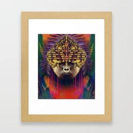 Spirit animal- The gorilla Framed Art Print