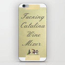 Catalina Wine Mixer iPhone Skin