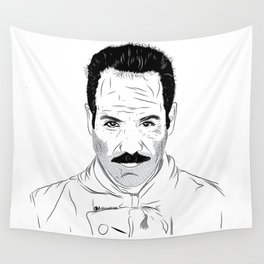 Seinfeld soup Wall Tapestry
