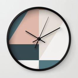 Cirque 01 Abstract Geometric Wall Clock