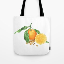 Tangerines and spices Tote Bag
